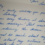 Hand-written notes show appreciation